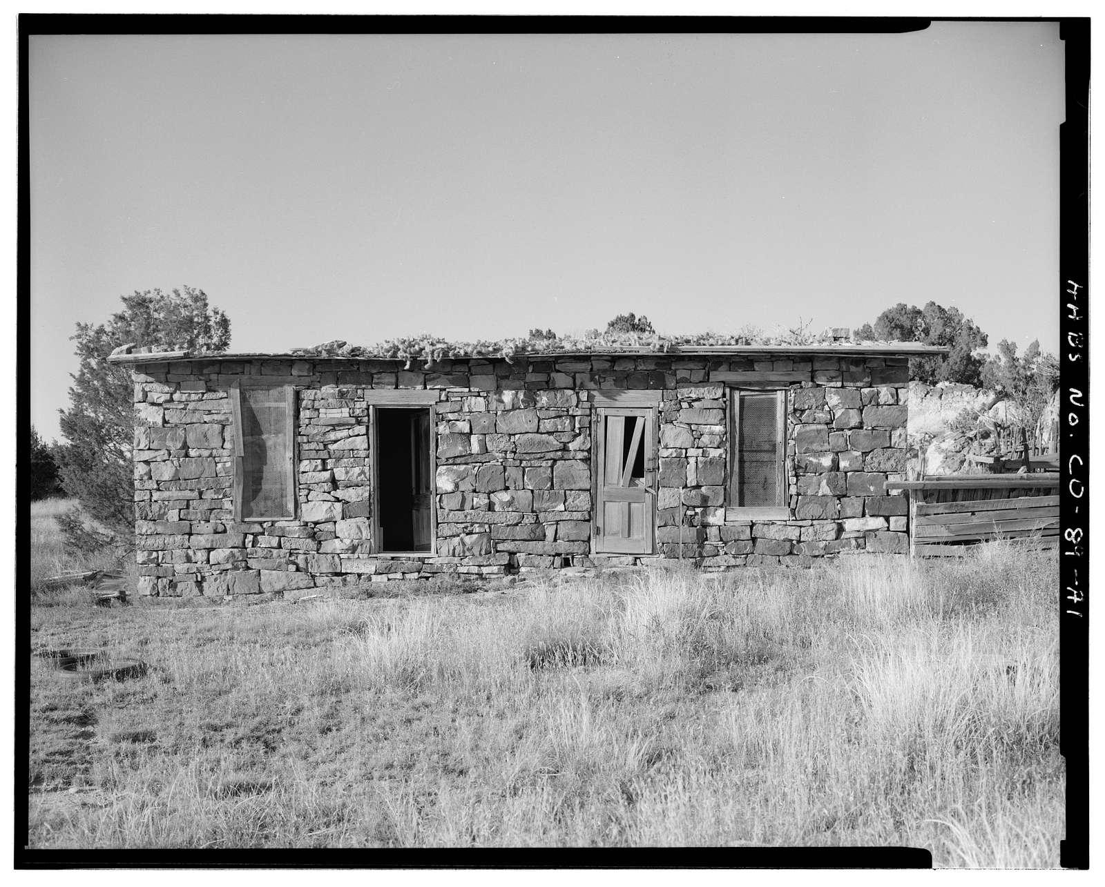 Adam & Bessie Arnet Homestead, Marguerite Arnet Residence, 560 feet northeast of Adam & Bessie Arnet Residence, Model, Las Animas County, CO