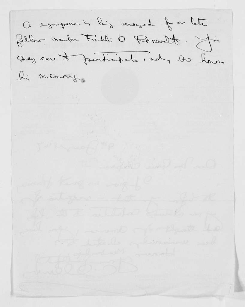 Carrie Chapman Catt Papers: General Correspondence, circa 1890-1947; International Mark Twain Society