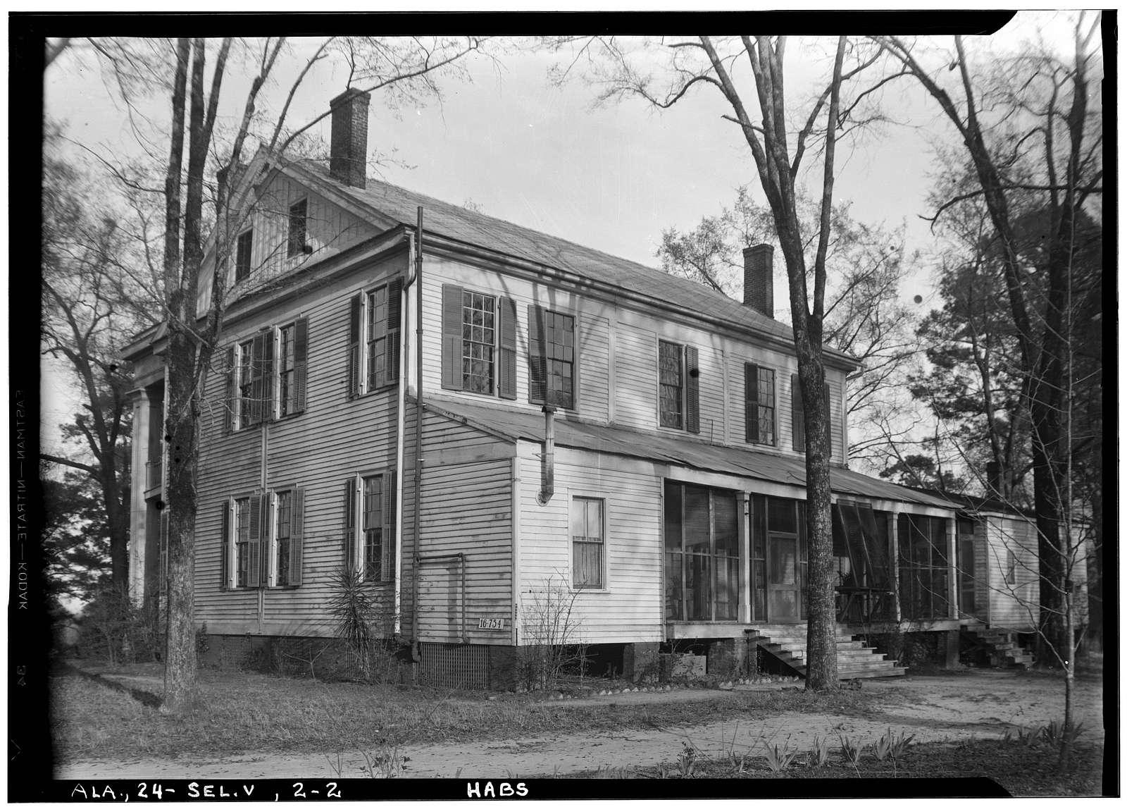 Doctor Harper House, State Highway 219 & County Road 344, Selma, Dallas County, AL