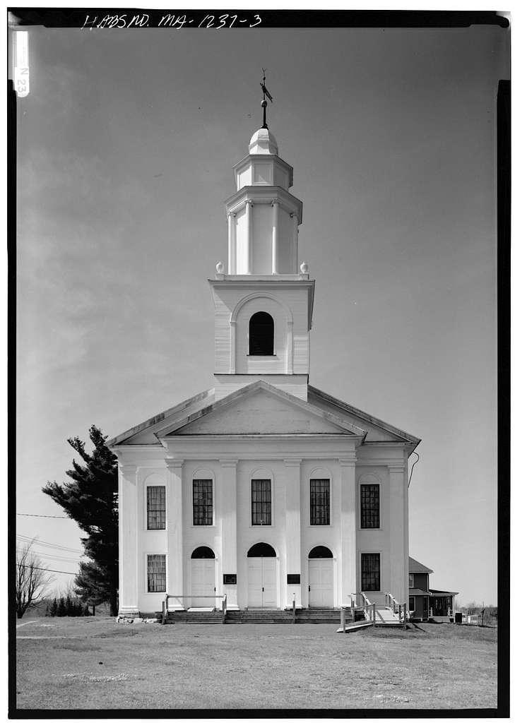 First Congregational Church of Blandford, North Street, Blandford, Hampden County, MA