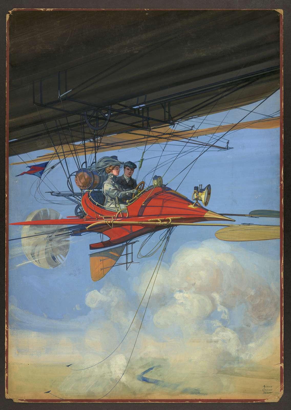 [Futuristic air travel] / Harry Grant Dart.