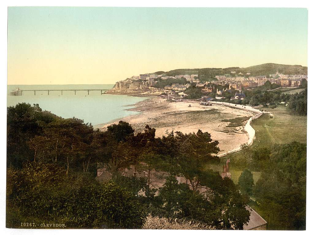 [General view, Clevedon, England]