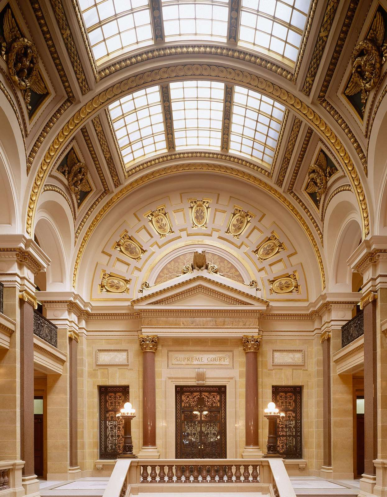 Grand Hall of the Wisconsin Capitol, Madison, Wisconsin