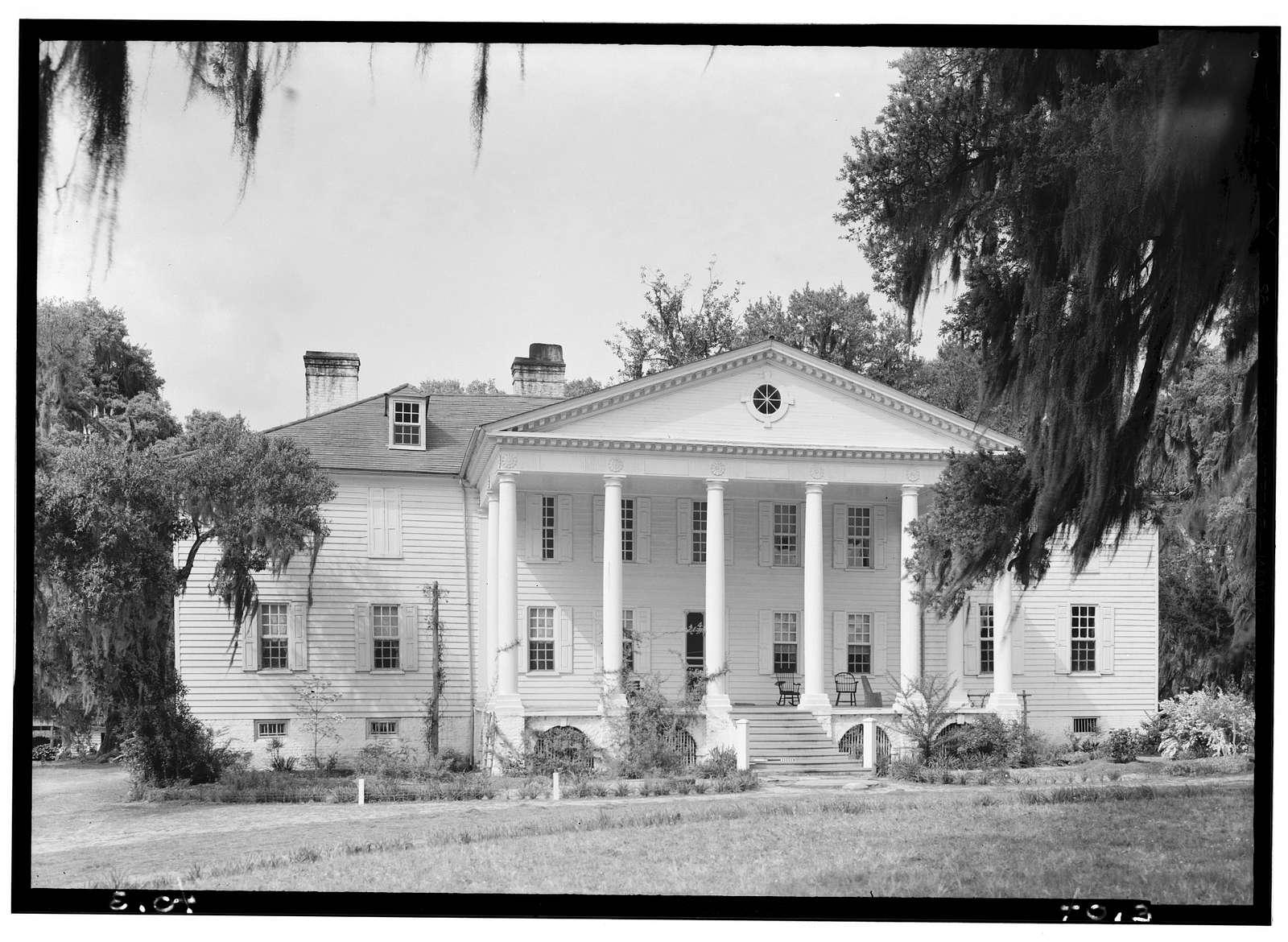 Hampton Plantation, Wambaw Creek, South side, McClellanville, Charleston County, SC