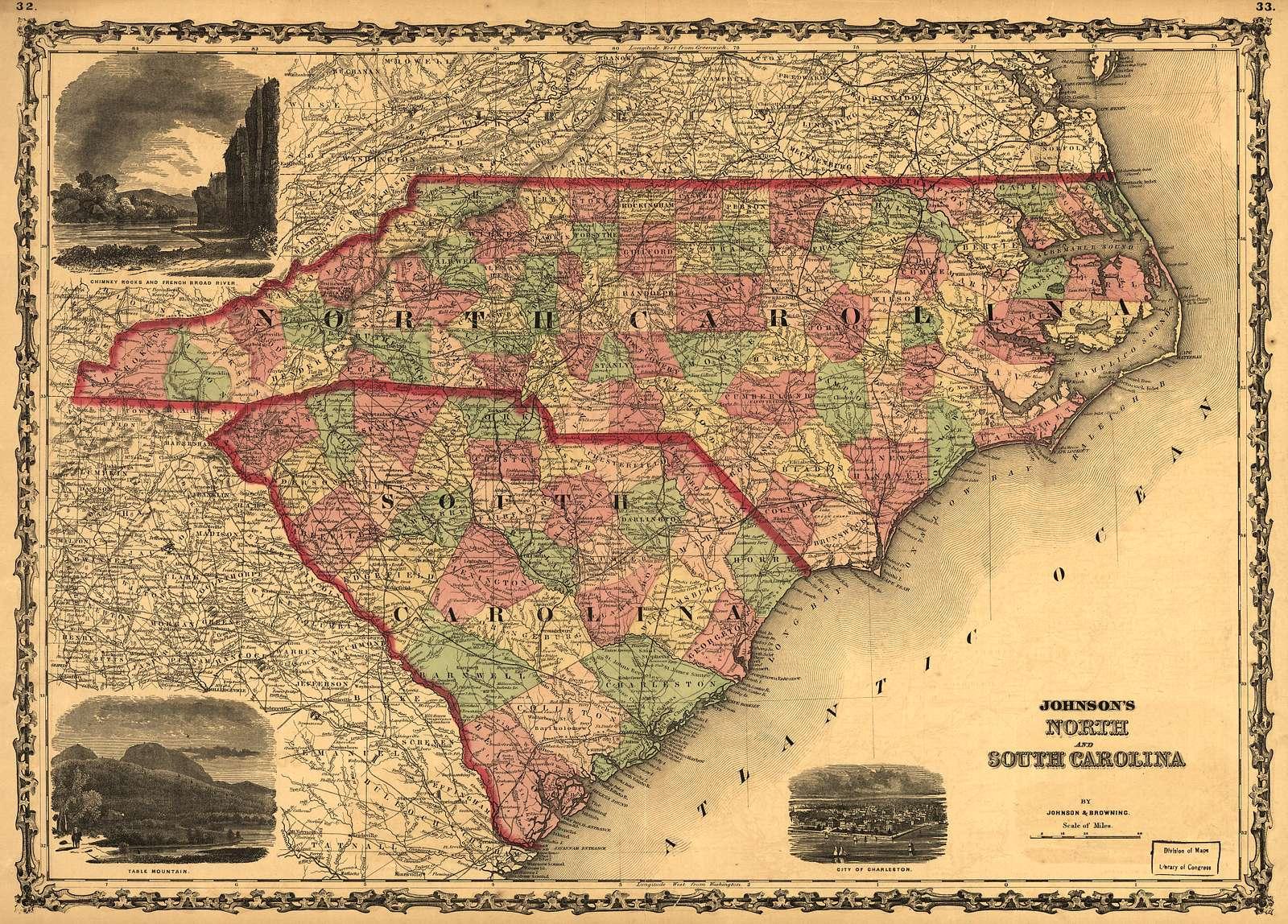 Johnson's North and South Carolina.