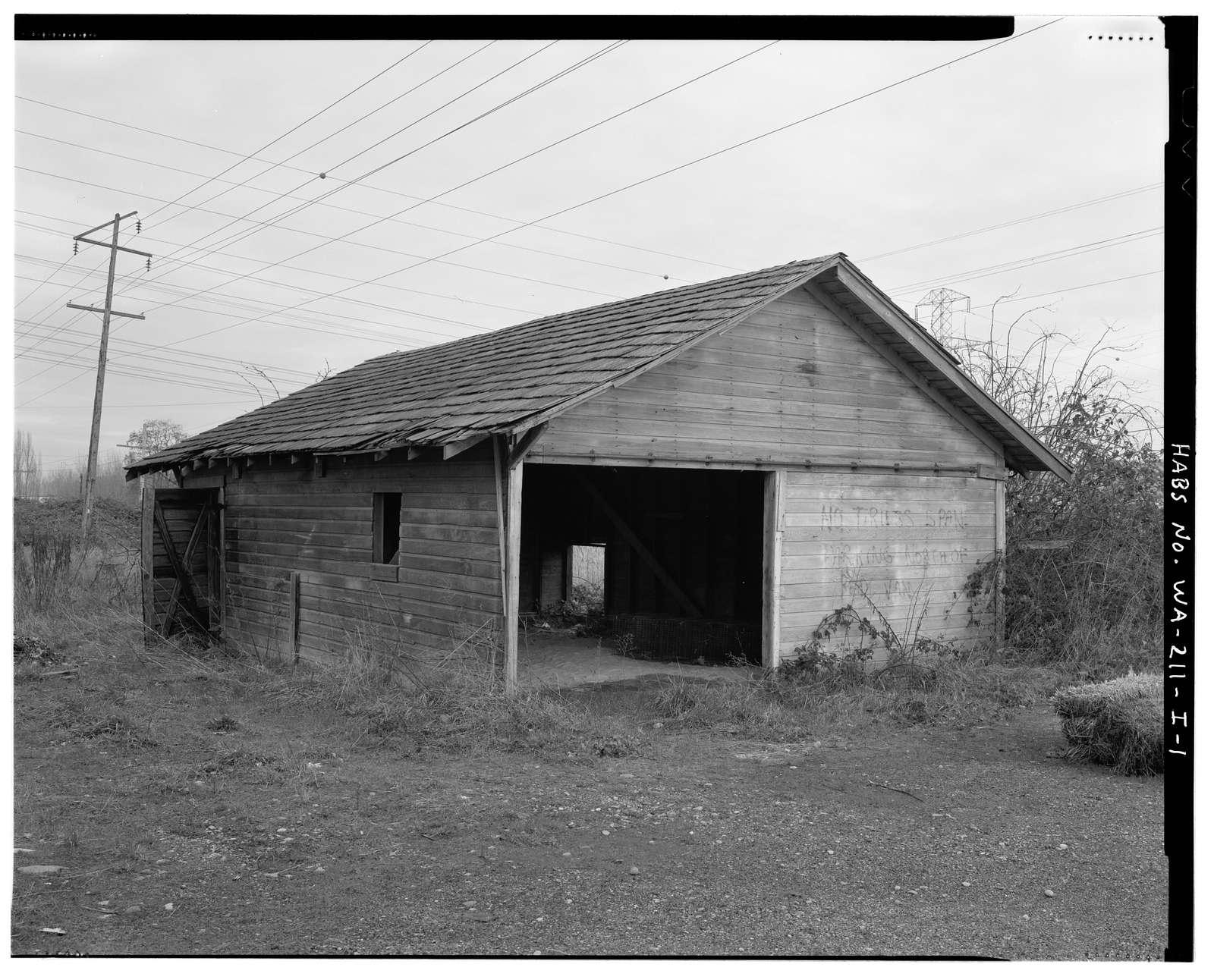 Kosai Farm, Northeast Shed, B Street north of Northwest Twenty-ninth Street, Auburn, King County, WA