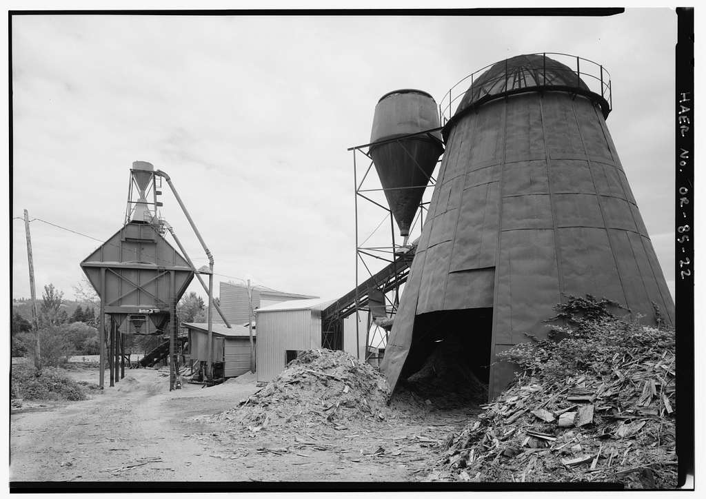 Lester Shingle Mill, 1602 North Eighteenth Street, Sweet Home, Linn County, OR