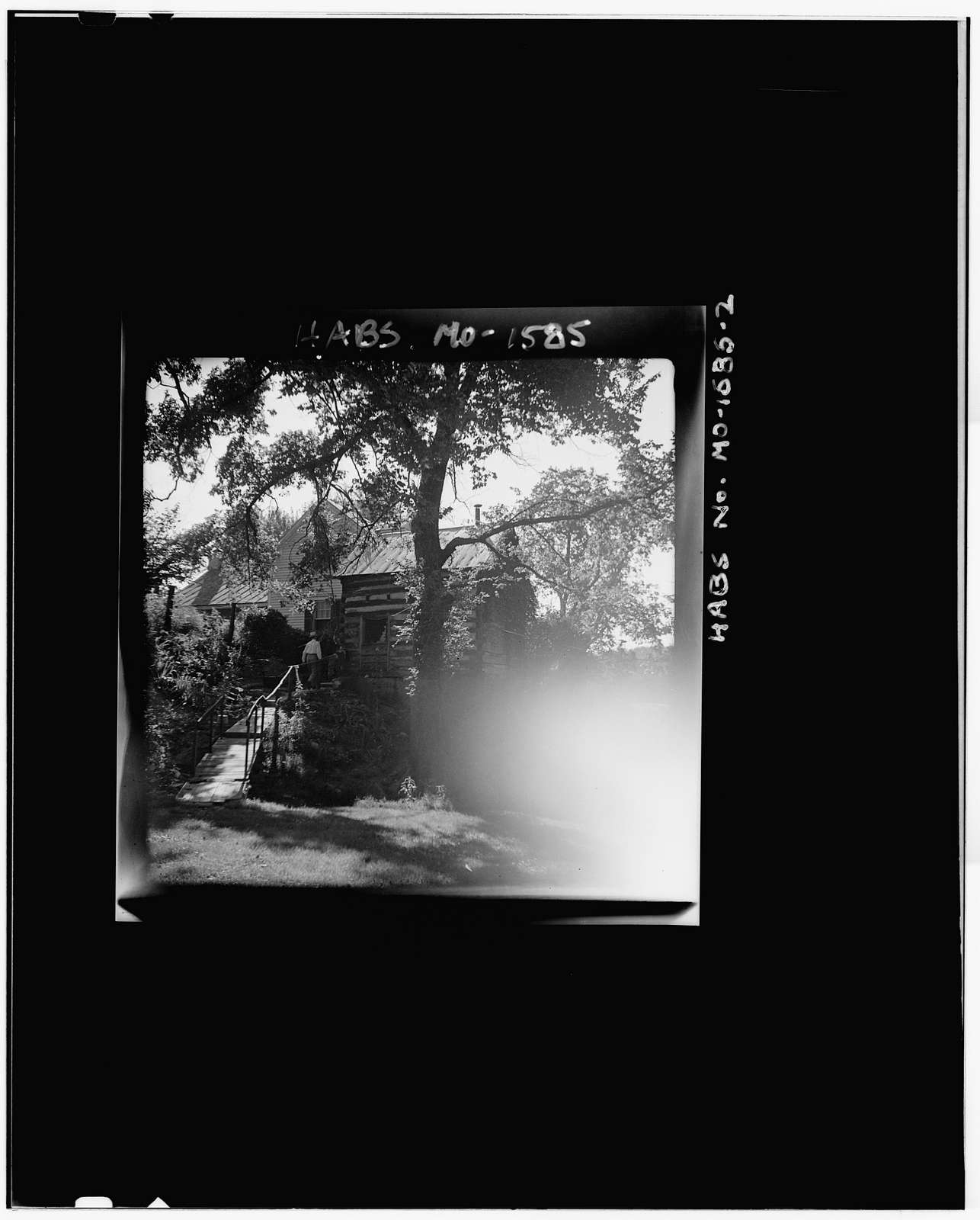 Log Cabin, Femme Osage, St. Charles County, MO