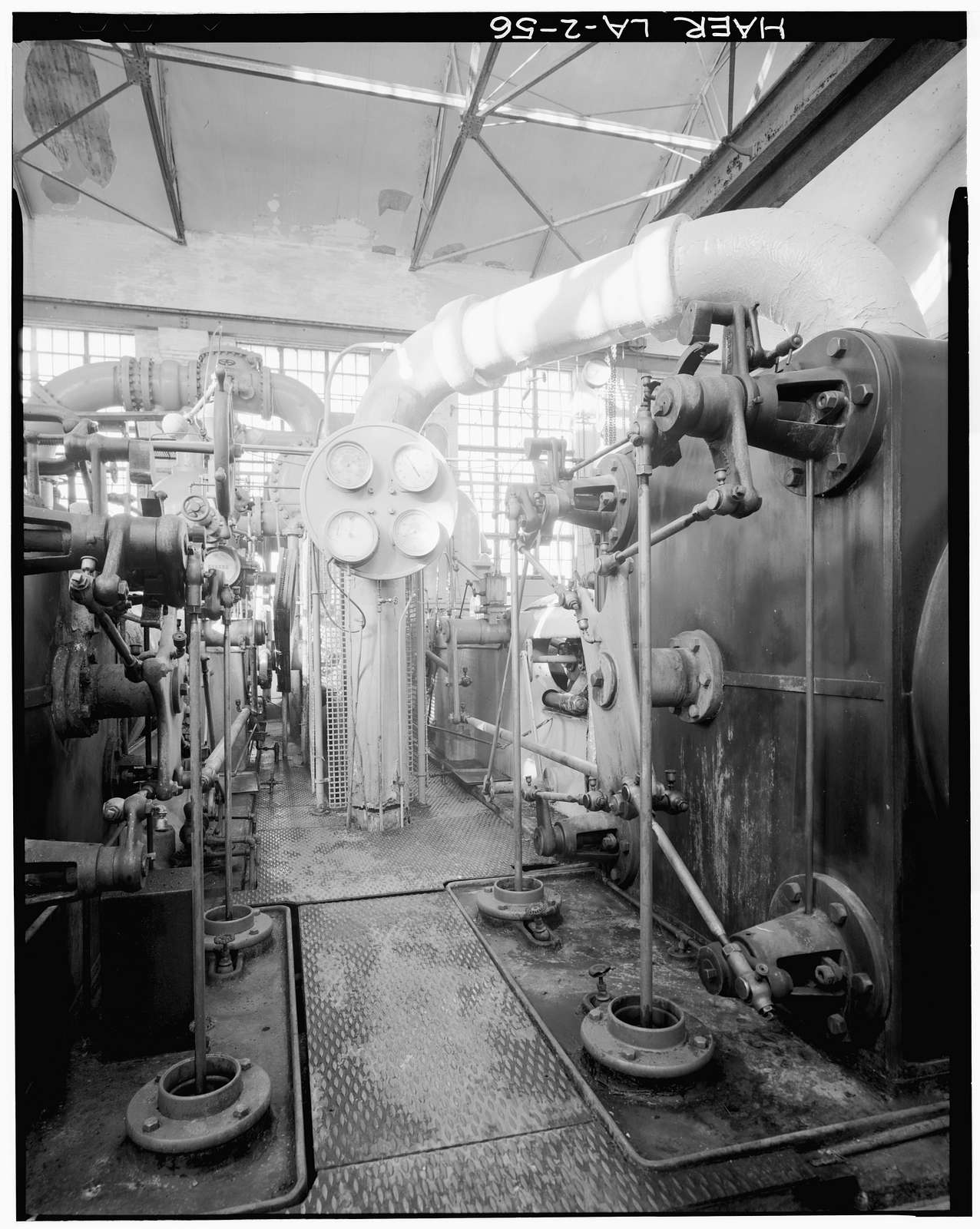 McNeil Street Pumping Station, McNeil Street & Cross Bayou, Shreveport, Caddo Parish, LA