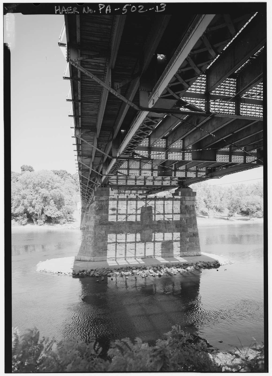 Northampton Street Bridge, Spanning Delaware River at Northampton Street (U.S. Route 22 Alternate), Easton, Northampton County, PA