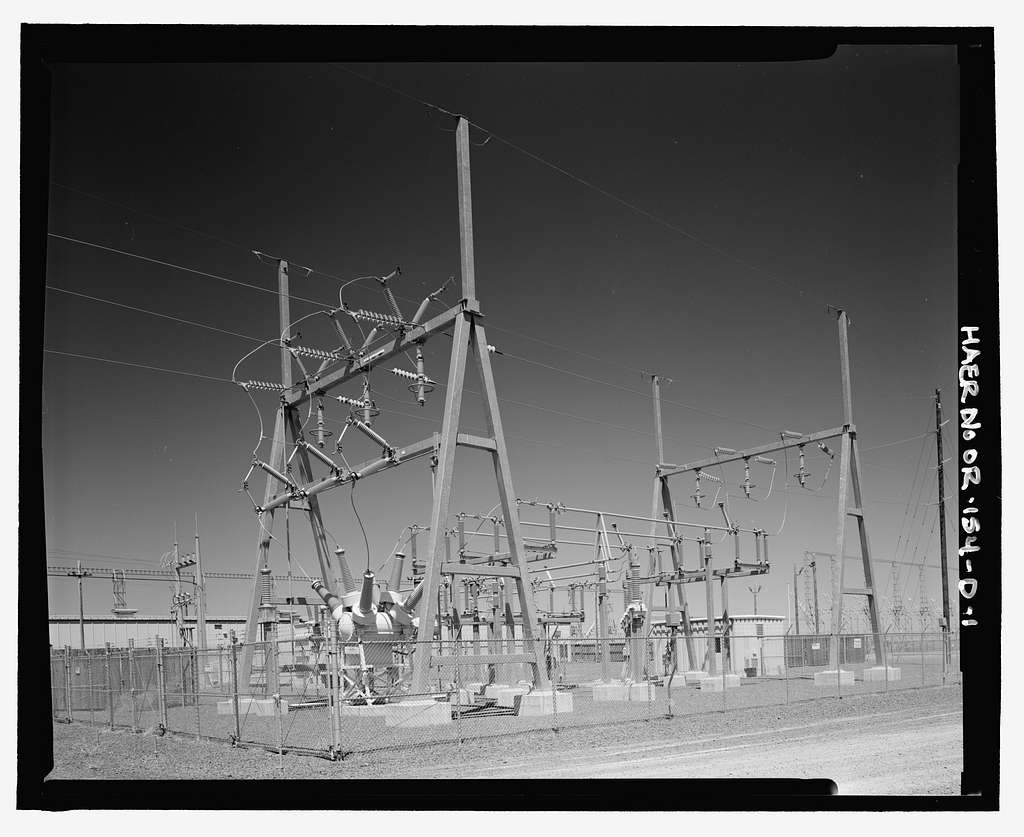 Over-the-Horizon Backscatter Radar Network, Christmas Valley Radar Site Transmit Sector Four Substation, On unnamed road west of Lost Forest Road, Christmas Valley, Lake County, OR