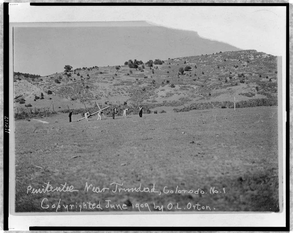 Penitentes near Trinidad, Colorado