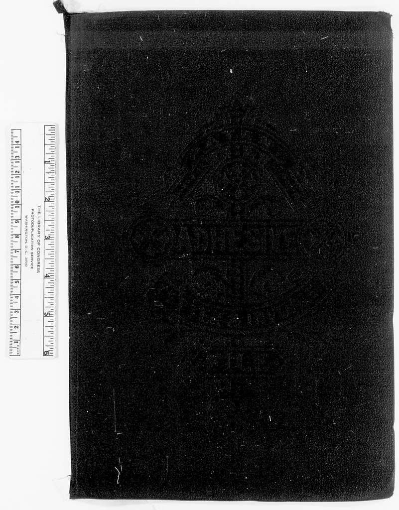 Philip Henry Sheridan Papers: Field Dispatches and Telegrams, 1862-1883; Sent; Vol. 2, 1864, Sept.-1867, June