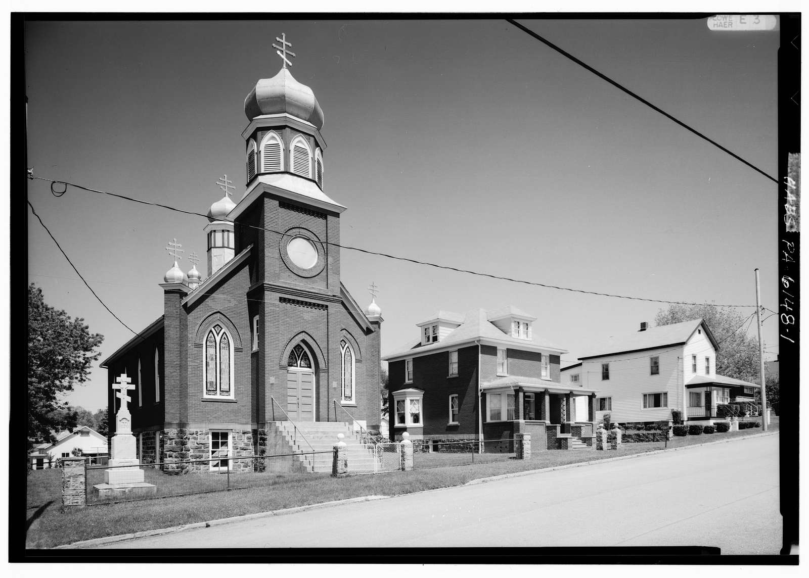 Saints Peter & Paul Russian Orthodox Greek Catholic Church, Quemahoning Street, Boswell, Somerset County, PA