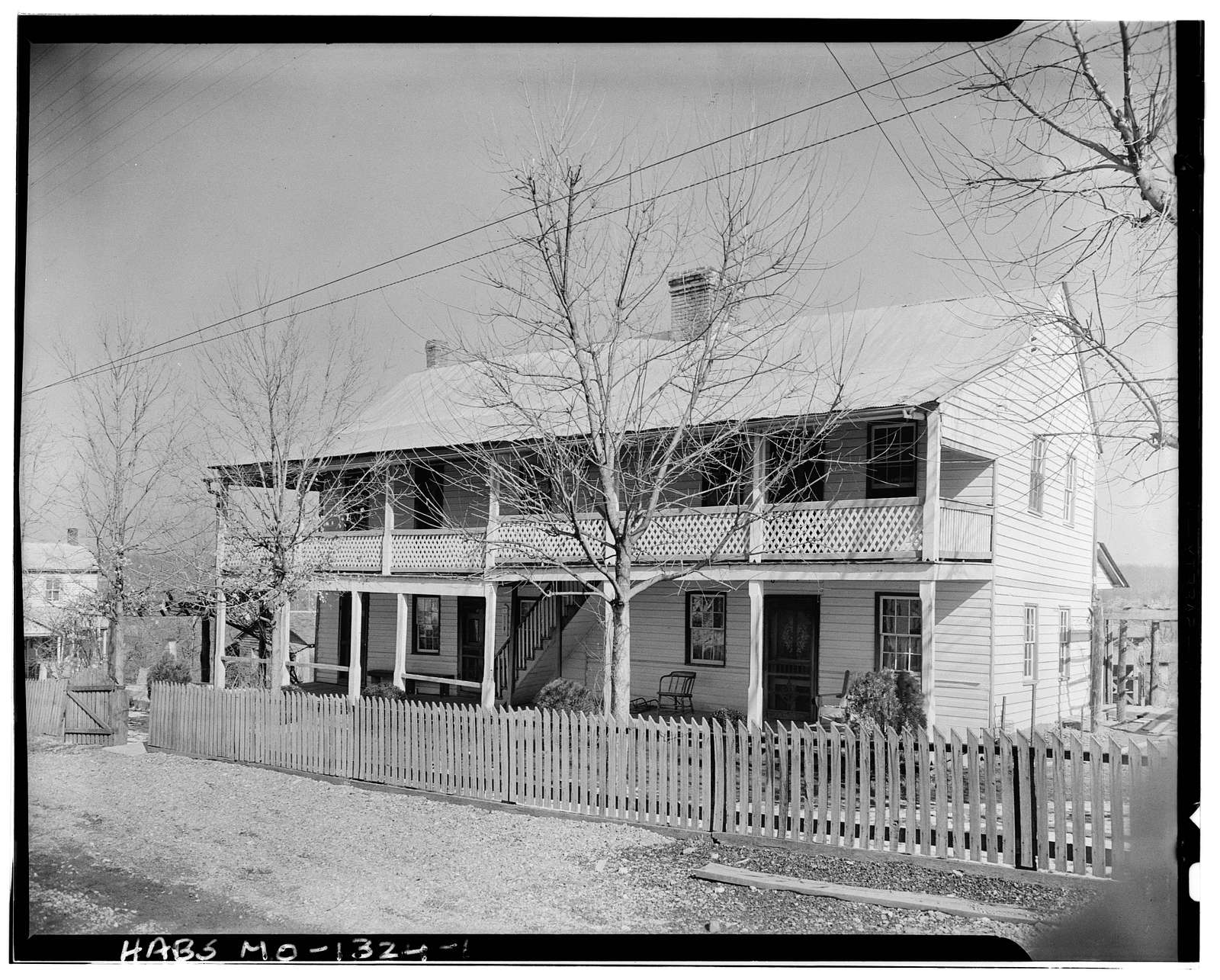 Shoultz-Mclane House, Appleton, Cape Girardeau County, MO