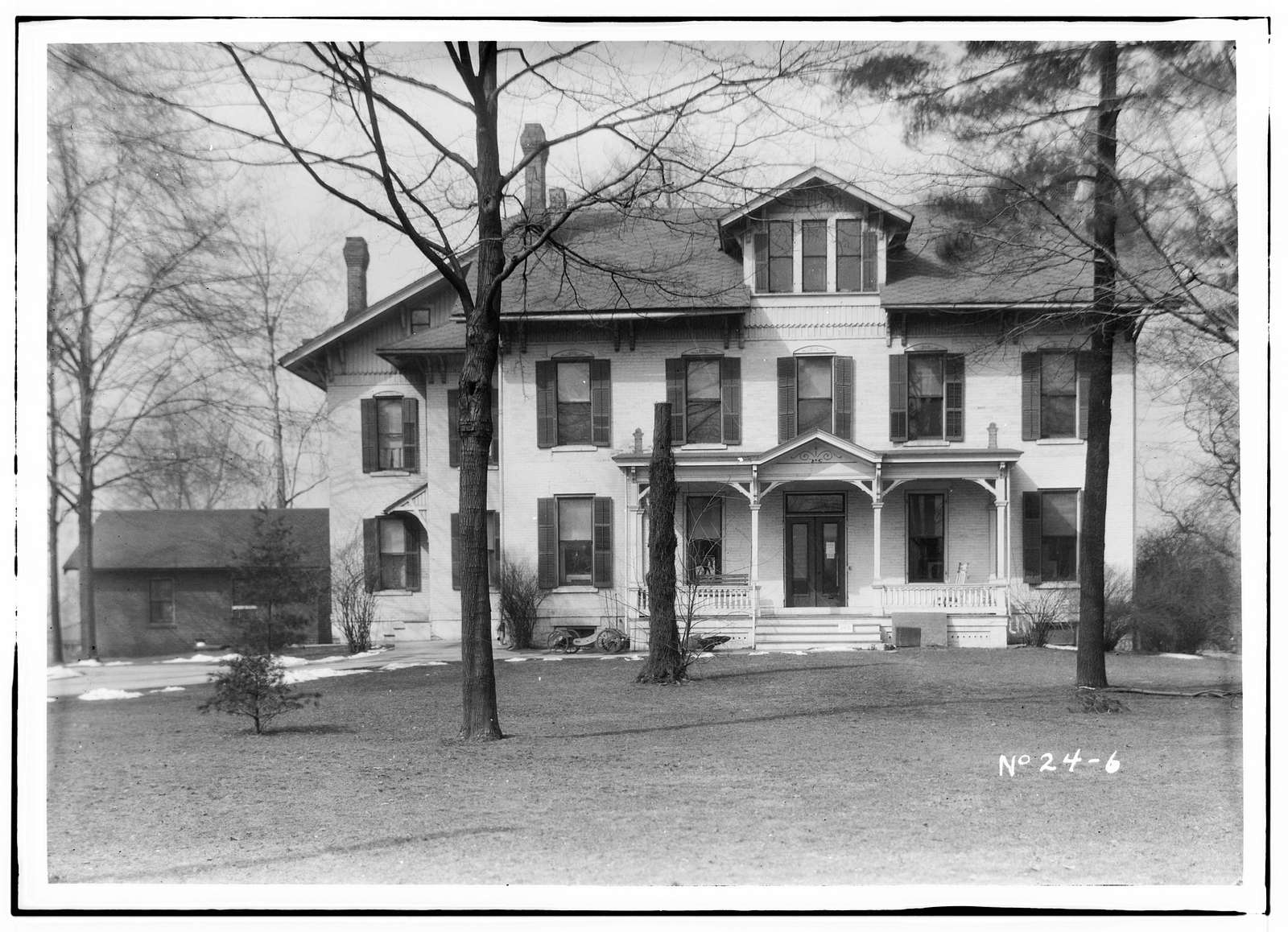 Swinney House, Swinney Park & Jefferson Street, Fort Wayne, Allen County, IN