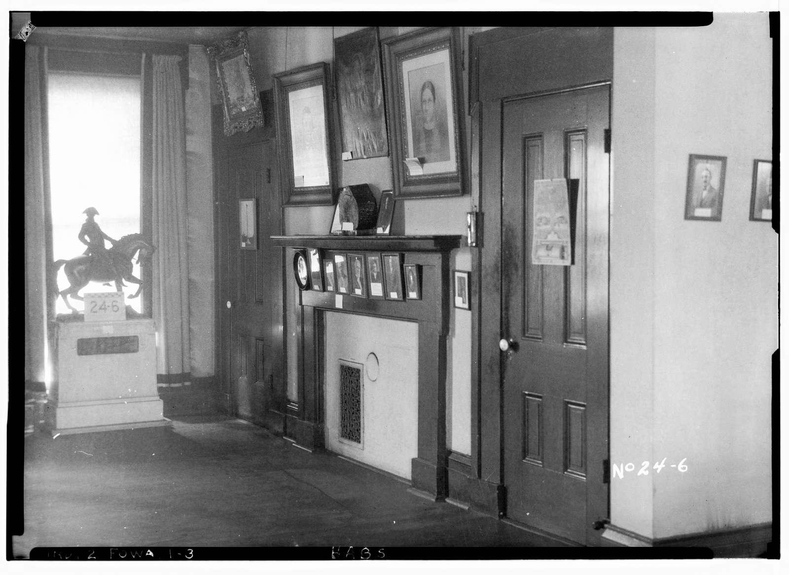 Swinney House, Swinney Park & Jefferson Street, Fort Wayne, Allen County, IN