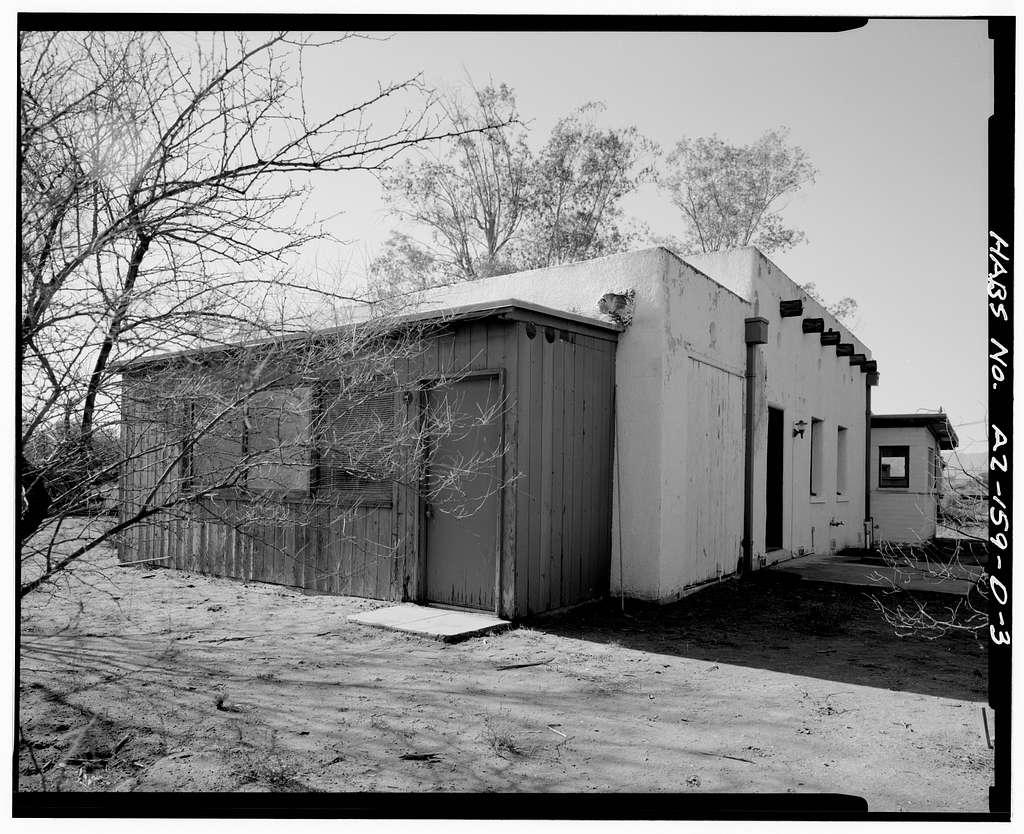 Tucson Plant Materials Center, Superintendent's Cottage, 3241 North Romero Road, Tucson, Pima County, AZ