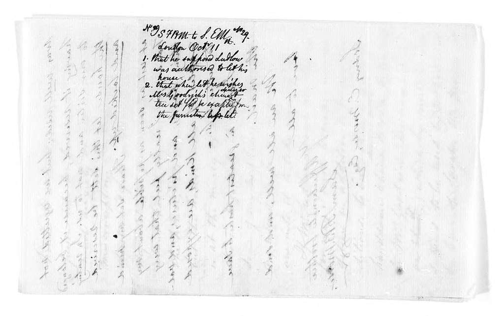 Unbound letters---1865-1869