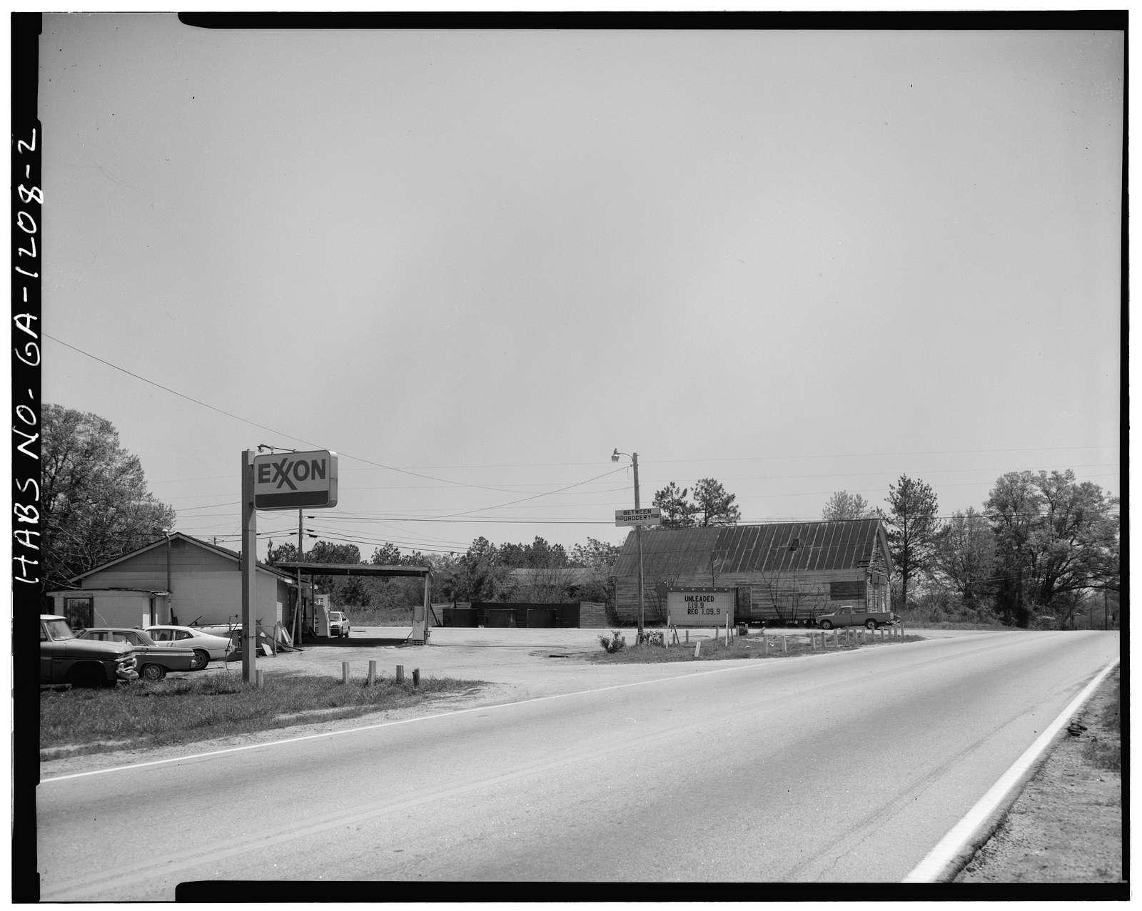 Upshaw-Briscoe Store, U.S. Route 78 & County Road 56 (New Hope Church Road), Between, Walton County, GA