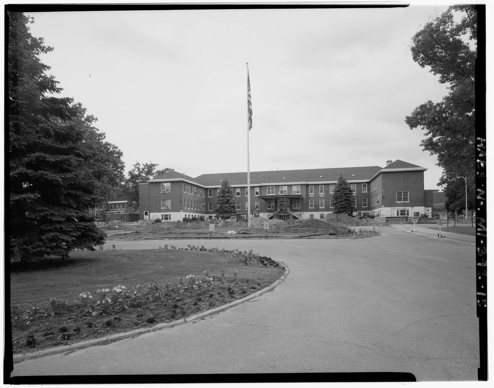 U.S. Veterans Bureau Hospital No. 100, 5500 Armstrong Road, Battle Creek, Calhoun County, MI