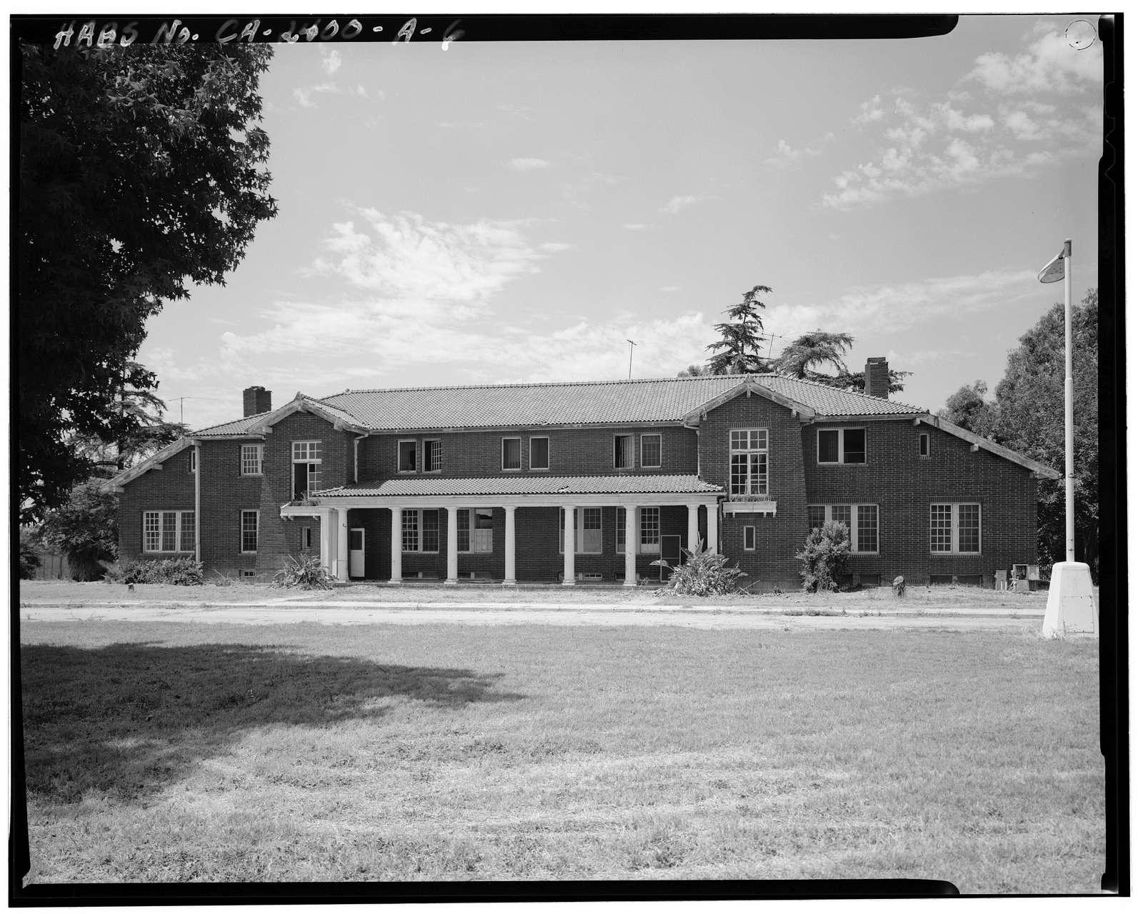 Whittier State School, Hospital & Receiving Building, 11850 East Whittier Boulevard, Whittier, Los Angeles County, CA