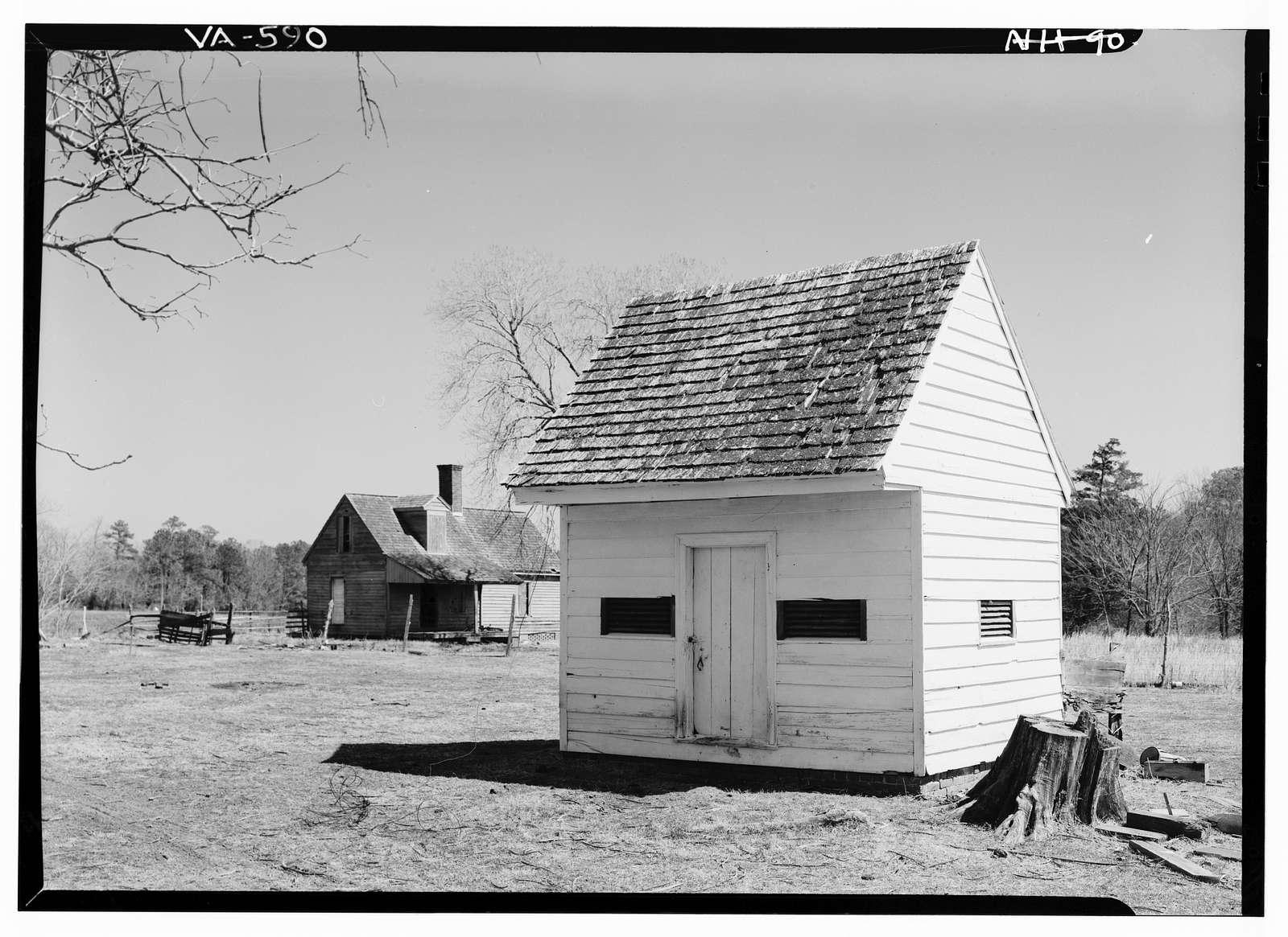 Woodlands, State Route 600 vicinity, Nassawadox, Northampton County, VA