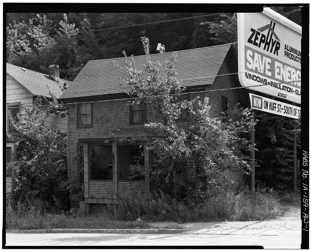 Workingmen's Houses, Margaret Tracy House, 682 Dodge Street, Dubuque, Dubuque County, IA