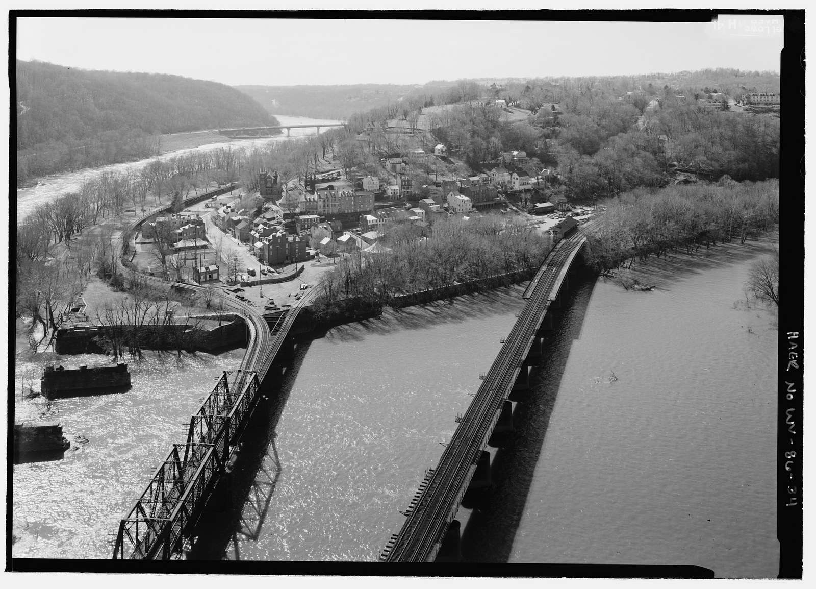 Baltimore & Ohio Railroad, Harpers Ferry Station, Potomac Street, Harpers Ferry, Jefferson County, WV