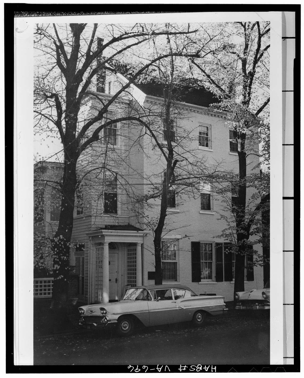 Dick-Janney House, 408 Duke Street, Alexandria, Independent City, VA