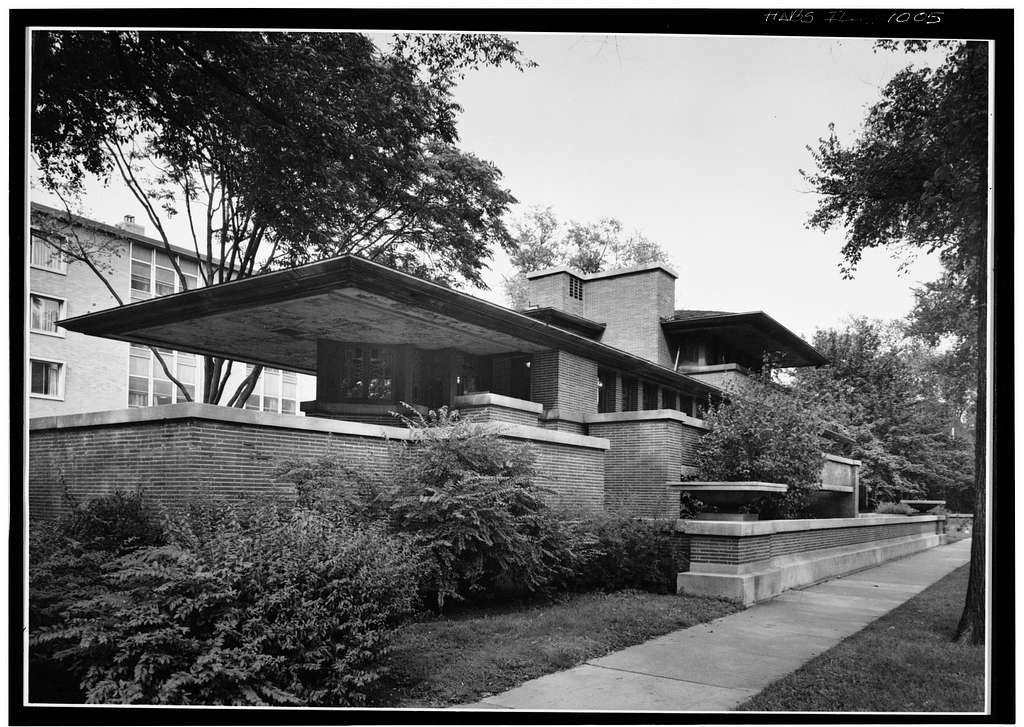 Frederick C. Robie House, 5757 Woodlawn Avenue, Chicago, Cook County, IL