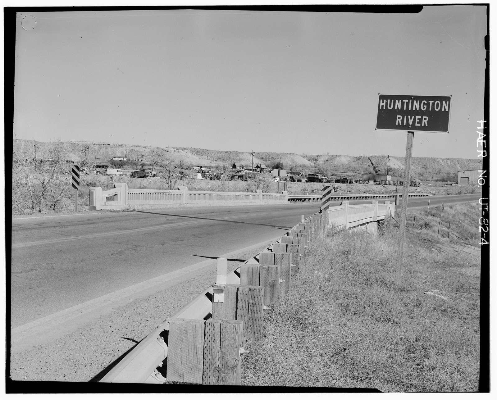 Huntington Creek Bridge, Spanning Huntington Creek at State Route 10, Huntington, Emery County, UT