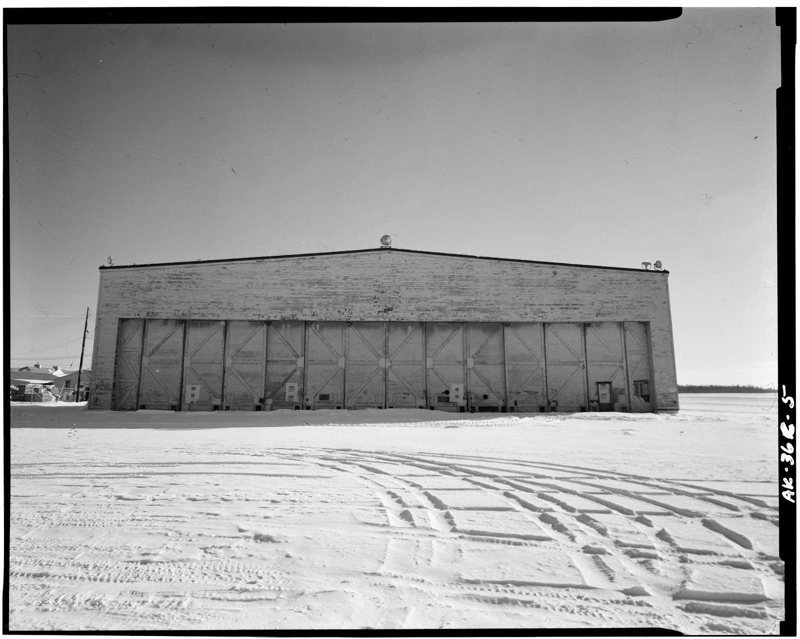 Ladd Field, Kodiak T-Hangar, Fort Wainwright, Fairbanks, Fairbanks North Star Borough, AK