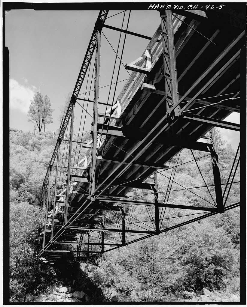 Purdon Crossing Bridge, Nevada City, Nevada County, CA