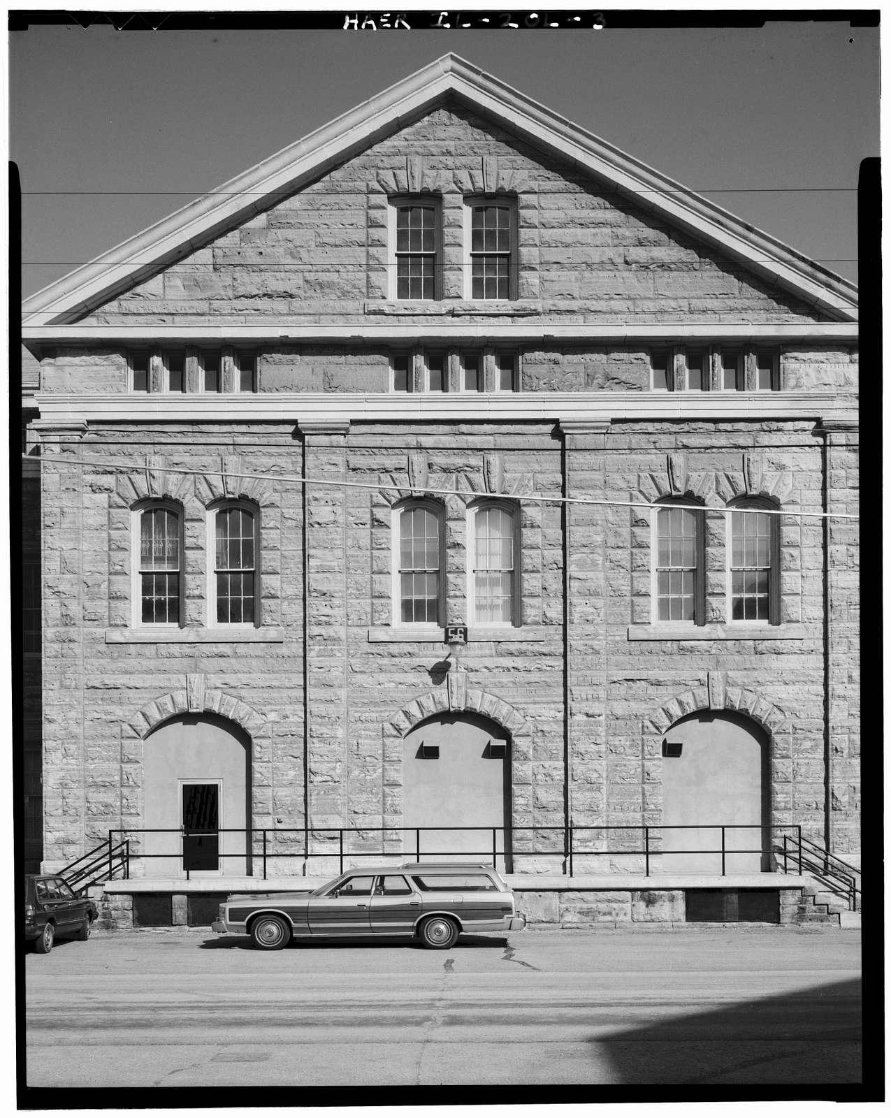 Rock Island Arsenal, Building No. 56, North Avenue & East Avenue, Rock Island, Rock Island County, IL