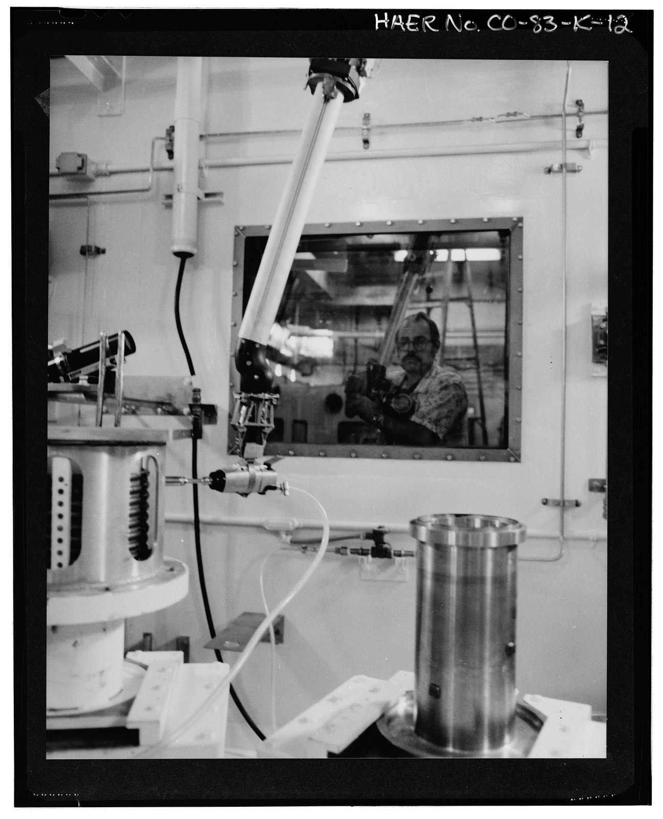 Rocky Flats Plant, Plutonium Recovery Facility, Northwest portion of Rocky Flats Plant, Golden, Jefferson County, CO