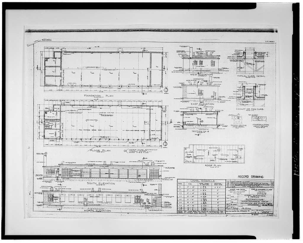 Selfridge Field, Building No. 104, George Avenue between Maple & Walnut Streets, Mount Clemens, Macomb County, MI