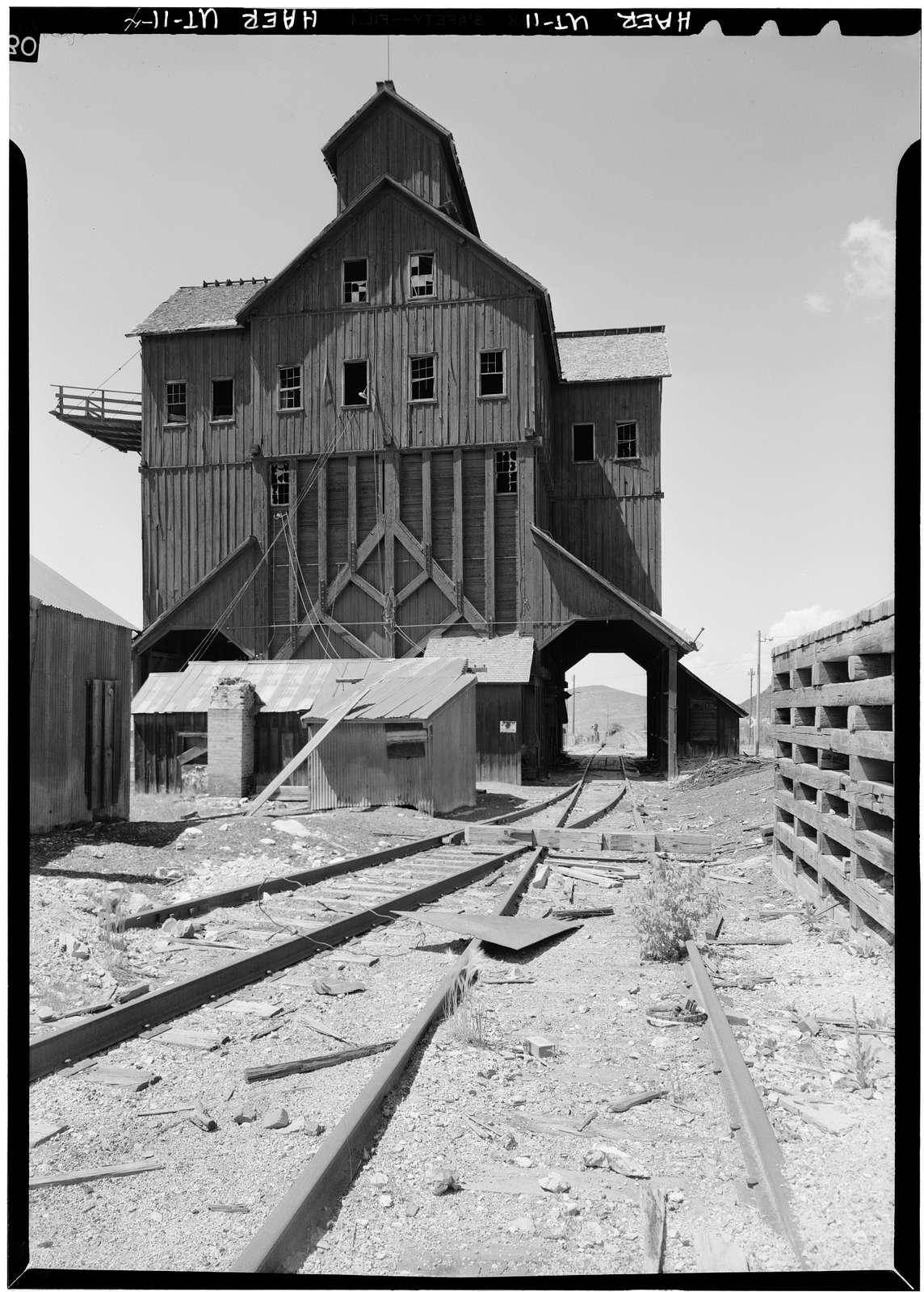 Silver King Mining Company, Ore Loading Station, Park Avenue, Park City, Summit County, UT