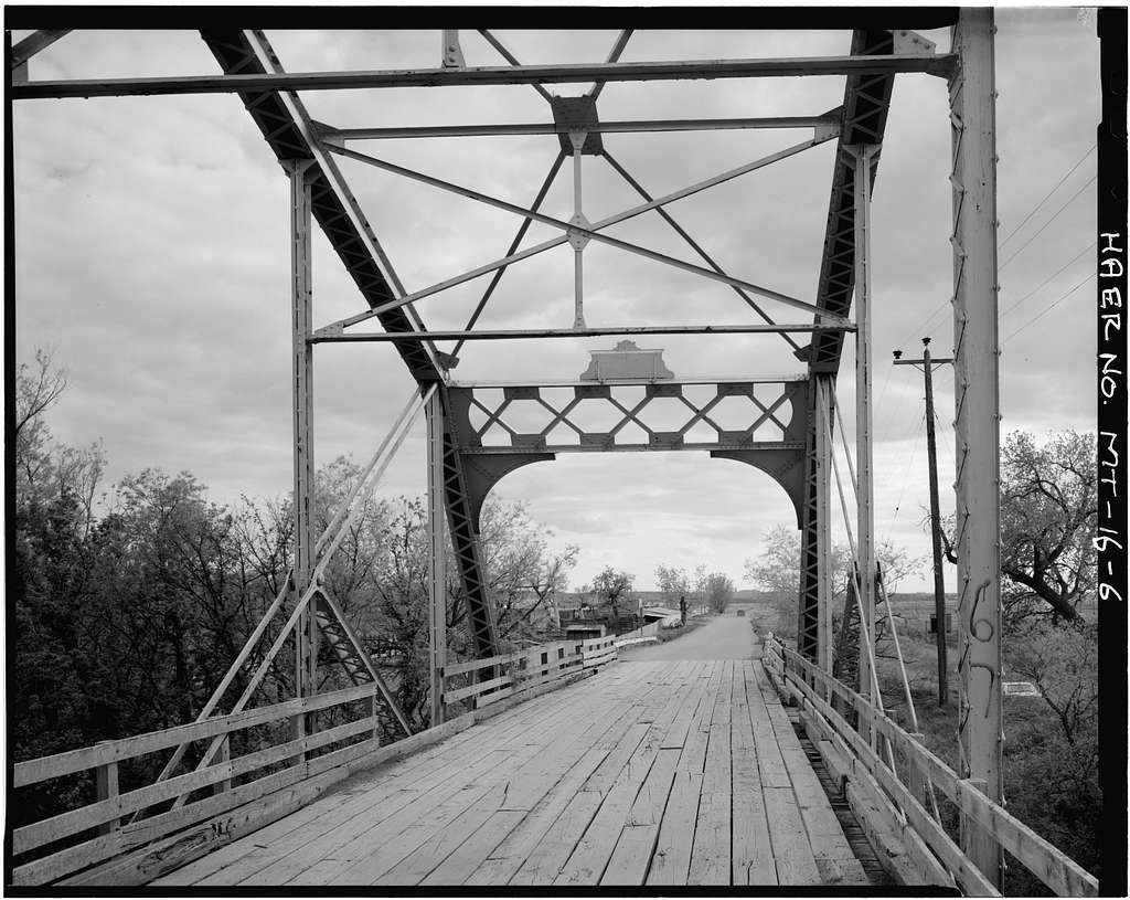 Tongue River Bridge, Spanning Tongue River, Miles City, Custer County, MT