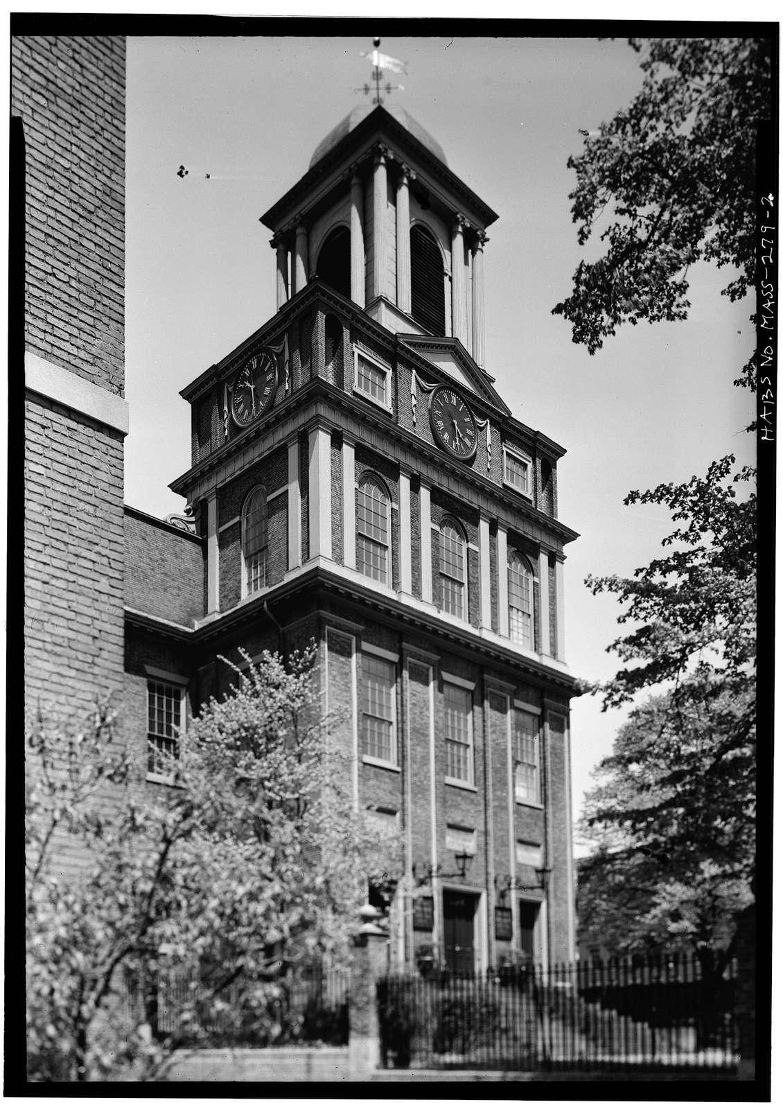 West Church, 131 Cambridge Street, Boston, Suffolk County, MA