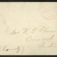 Letter from Giles S. Thomas to Thomas Family, March 18, 1885