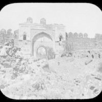Delhi - ruins of Shershak