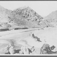 Fort Ali-Musjid from the foot of Khyber Pass