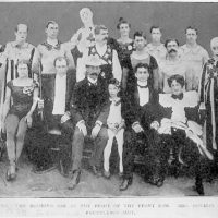 [Harry and Beatrice Houdini with the Welsh Brothers Circus]