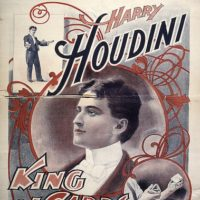 [Harry Houdini, King of Cards]