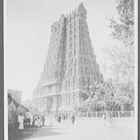 Madura - north tower of the Temple of Siva