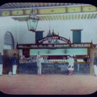 Refreshment stall in station - Madras Railway