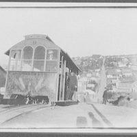 Street-car going down hill -  Dunedin