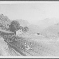 View of Khandwa Ravine on the Great Indian Peninsula Railway, from Lanauli to Bombay, enroute to Bombay