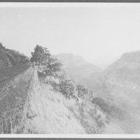 View of Khandwa Ravine on the Great Indian Peninsula Railway, from Lanauli to Bombay